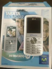 Telefono movil LG KP100   ( Movistar )  con accesorios