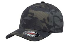 Official Flexfit Crye Multicam Black Cap - Military Baseball Cap - All Sizes