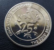 More details for boys brigade 125th anniversary coin