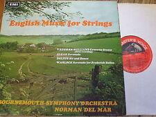 ASD 2351 English Music for Strings / Del Mar S/C