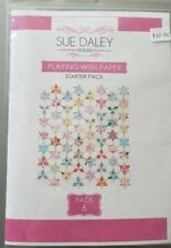 Sue Daley PLAYING WITH PAPER STARTER PACK 6 EPP English Paper Piecing