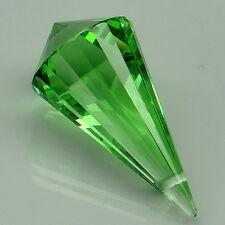 Tempting!!! 15.6ct. Apple Green Amethyst Briolette Drilled