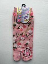Nagomi SAKURA Cherry Blossoms Flower Split Toe Tabi Socks Pink