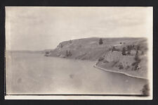 1914 real photo Columbia River near Othello Washington postcard