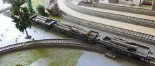 4 wagons Marklin avec chargement bois pour circuit de train HO