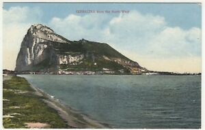 Gibraltar; View From The Northwest PPC, Unused, c 1910's