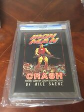 Iron Man Crash Graphic Novel Epic 1St First Conputer Generated Cgc 9.8