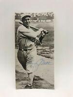 Rare Johnny Mostil Chicago White Sox Black Sox Signed Photo PSA DNA COA