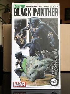 MARVEL Black Panther Fine Art Figure Statue Kotobukiya