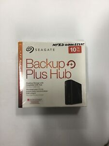 Seagate Backup Plus Hub 10TB, External, 3.5 inch (STEL10000400) Hard Drive