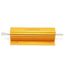 Useful 8 Ohm 100W Watt Power Wirewound Resistor Metal Aluminum Shell Case