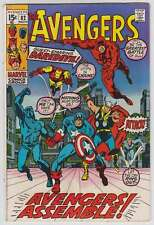 L6757: Avengers #82, VG/F Condition