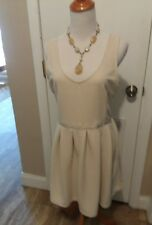 Cute cream color dress size large from American Eagle living