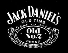 high detail airbrush stencil jack daniels number 7 logo FREE POSTAGE