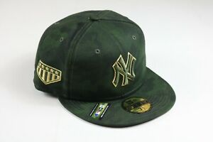 New Era New York Yankees Armed Forces Day Mens Size 7 1/2 On-Field Hat 59Fifty