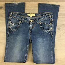 J & Company Stretch Distressed Slim Straight Women's Jeans Size 26 Fit W29 (V12)