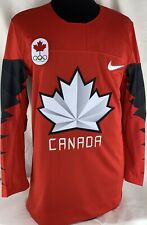 62419be19 Nike Authentic Team Canada Olympic Hockey Jersey NWT $130
