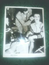 DOLORES MORAN Photo Candid Christmas Eve Movie Set 1947 Original