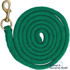Braided Lead Rope 32mm Brass Plated Snap