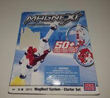 Mega Bloks - MagNext System Magnetic Starter Set  29713. New Sealed  / 30 pieces