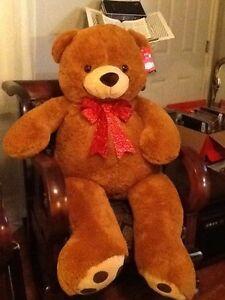 "52"" Plush Planet Jumbo Big Giant Teddy Bear Stuffed Animal Brown"