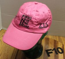 "SUSAN G KOMEN RACE FOR THE CURE ZETA TAU ALPHA PINK BREAST CANCER HAT ""SURVIVOR"""