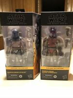 Star Wars Black Series 6 inch Clone Wars Lot Mandalorian Super Commando Loyalist
