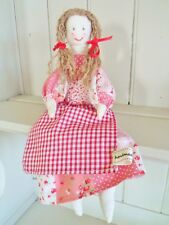 Rag Doll Kit Complete Sewing Craft Kit Patchwork Vintage Doll By Sewintocrafts!