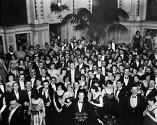 The Shining Jack Nicholson in tuxedo haunting b/w at party in hotel 8x10 Photo