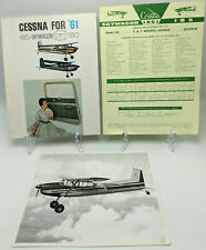 1961 CESSNA SKYWAGON 185 Advertising Brochure, Price List & Photo