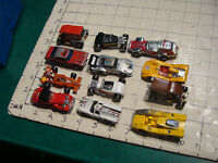 12 misc cars, hot wheels, matchbox, kenner, zylmex, tomica, yatming