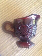 Avon Cape Cod Ruby Red Small Coffee Cream Server Free SHIPPING Rare US Seller