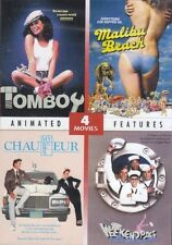 4 Drive-In Features: TOMBOY (1985), MY CHAUFFEUR (1986), WEEKEND PASS (1984) and