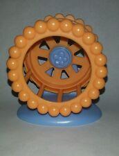 Littlest Pet Shop Orange Hamster Exercise Wheel Accessory Replacement Part