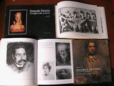 mini lotto 2  libri su artisti Calabresi : Pasquale Panetta e Andrea Alfano