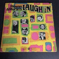 VTG Rowan and Martin - Laugh-in (1968) Vinyl LP Soundtrack Record - WINDOW FOLD!