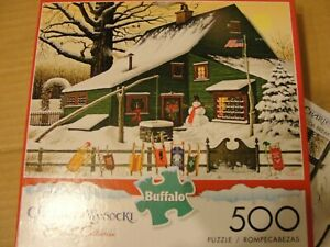 Charles Wysocki 500 Puzzle,Holiday Collection Pre-Owned