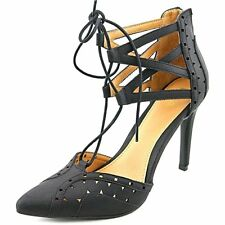 Mia Melonie Heels Shoes Open Toe Sandals Black 8.5M