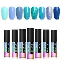 LILYCUTE 5ml Pure Tips UV Gellack Grau Series Soak Off Nail Art Gel Varnish