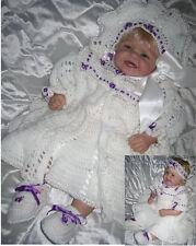 "Crochet pattern Baby/Reborn: ""Arctic Rose "" CRO144 by Frandor Formats"