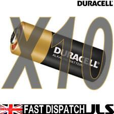 10 x  DURACELL MN21 A23 k23A LRV08 Alkaline Battery 12v