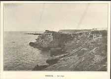 DJIBOUTI COTE DES SOMALIS OBOCK LE CAP IMAGE 1906
