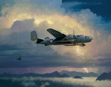 William Phillips INTO THE ARMS OF THE DRAGON, Canvas, Doolittle Raiders #100/200