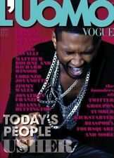 L'UOMO VOGUE January 2011 USHER; LORENZO JOVANOTTI; TODAY'S PEOPLE @New@