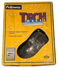 Vintage 1999 Fellowes Clear Tech Mouse Windows 98 iMac Compatible NEW