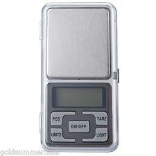 200g x 0.01g Mini LCD Digital Scale Jewelry Pocket Balance Weight Balance Gram