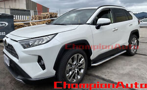 Side Steps Running Boards Aluminium To Fit Toyota Rav4 2019 - 2021 (CMP94)