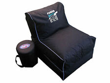 Port Adelaide Power AFL Large Foldable Lounge Bean Bag Chair With Cooler Marked