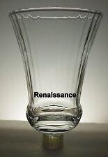 Home Interiors Flared Renaissance Clear Votive Cup w/ rubber grommet