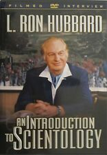 AN INTRODUCTION TO SCIENTOLOGY DVD FILMED INTERVIEW WITH L RON HUBBARD NEW